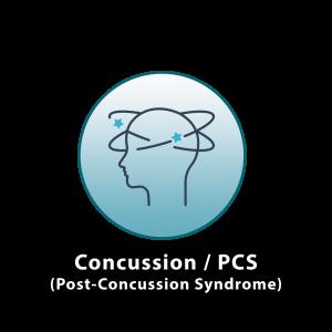 concussion post concussion syndrome icon