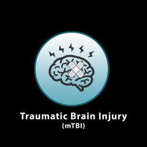 traumatic brain injury icon